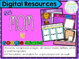 Digital Mother's Day Activities in Google Slides (Online a