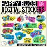 Digital Motivational Stickers | Classroom Incentives | Hom