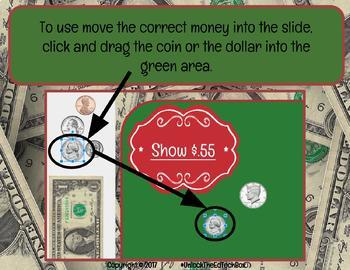 Digital Moveable How Much Money Sort Activity - Dollars Coins Decimals
