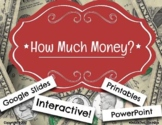 Digital Moveable How Much Money Sort Activity - Dollars Co