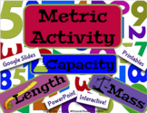 Digital Moveable Metric Measurement Sort Activity - Length