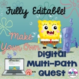 Digital Multi-Path Quest- Fully Editable! Perfect for Any