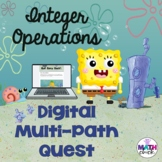 Digital Multi-Path Quest- Integer Operations- 6.3D