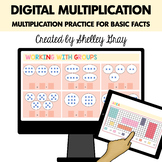 Digital Multiplication | Basic Multiplication Practice for