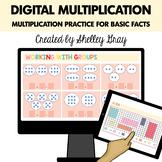 Digital Multiplication | Basic Multiplication Practice for