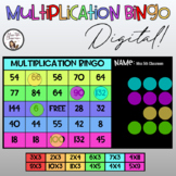 Digital Multiplication Bingo