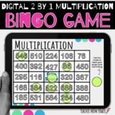 Digital Multiplication Bingo Game: 2 Digit by 1 Digit Mult