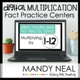 Digital Multiplication Fact Fluency Centers | Distance Learning