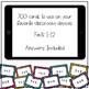 Digital Multiplication Flashcards (Facts 1-12)