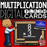 Digital Multiplication Flash Cards in PowerPoint {Answers Included}