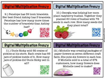 Digital Multiplication Frenzy