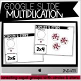 Digital Multiplication Equal Groups for Google Slides : DI