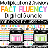 Digital Multiplication and Division Fact Fluency Practice