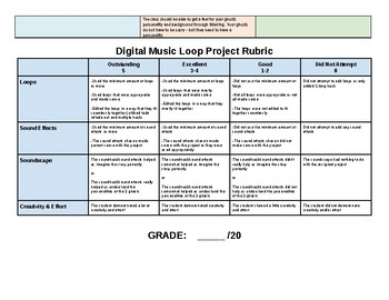Digital Music Composition Project