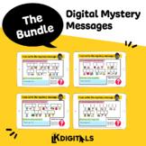 Digital Mystery Messages Bundle | Google Slides™ & Seesaw™