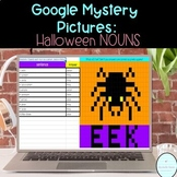 Digital Mystery Picture// Halloween Nouns