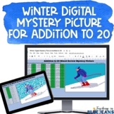 Digital Mystery Picture for Addition to 20 #2 | Winter Add