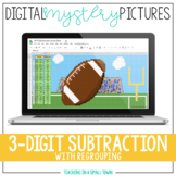 Digital Mystery Pictures // 3-Digit Sub // Google Classroo