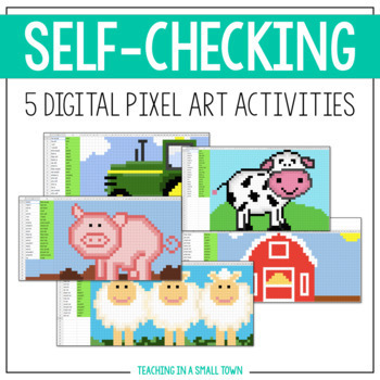Digital Mystery Pictures // Contractions // Self-Checking // Google Classroom