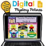 Digital Mystery Pictures - Favorite Characters Set 1