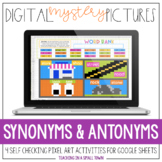 Digital Mystery Pictures // Synonyms & Antonyms // No Prep