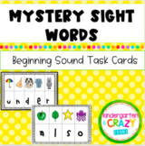 Digital Mystery Sight Words - Google Slides - Distance Learning