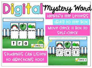Digital Mystery Word