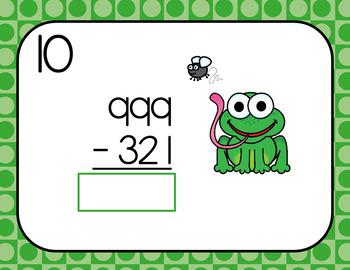 Digital NBT.2 Addition and Subtraction Task Cards for Google