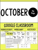 Digital NO PREP Monthly Packet October Edition