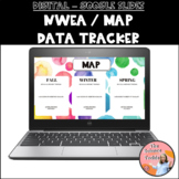 Digital NWEA - MAP Goal Setting Data Tracker for Google Slides