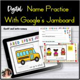 Digital Name Activity using Google Jamboard