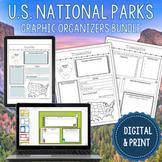 Digital National Park Research Graphic Organizers   63 Par