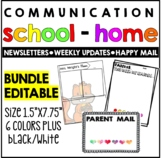 Newsletters-Weekly Updates-Happy Mail  (Paper/Digital)