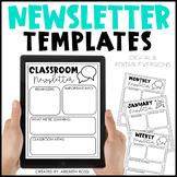 Newsletter Template Editable (Google Slides™)