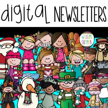 Digital Newsletters {SET 1}