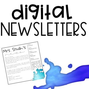 Digital Newsletters Set 2