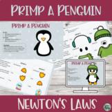 Digital Newton Laws Build/Dress Your Own Penguin Worksheet