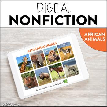 Digital Nonfiction - African Animals