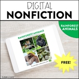 Distance Learning Nonfiction Comprehension Passages: Rainf