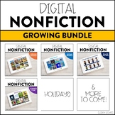 Distance Learning Nonfiction Comprehension Passages! - Bundle