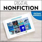Digital Nonfiction - Ocean Animals