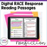 Digital Nonfiction RACE Strategy Practice Passages Grades 3-5