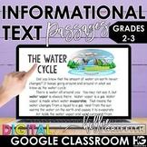 Digital Nonfiction Reading Passages for Google Classroom |