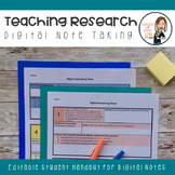 Digital Note Taking Handout for Students