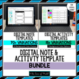 Digital Note and Activity Templates for Google Slides™