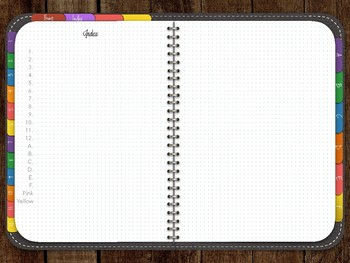 Digital Notebook - BUJO - For iPad - Notability- Goodnotes