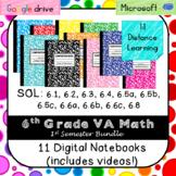 Digital Notebook BUNDLE  (VA 6.1, 6.2, 6.3. 6.4, 6.5, 6.6, 6.8)