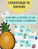 Digital Notebook Countdown to Summer Break - Activities fo