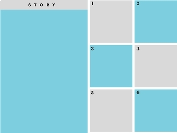 Digital Notebook Exit Slip and Graphic Organizer Storyboard