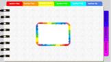 Digital Notebook - Rainbow theme (editable tabs)